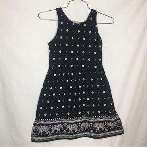 Old Navy Black & White dress size 8